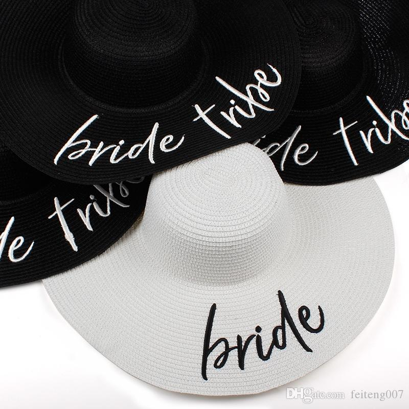 2019 2018 New Bride Tribe Beach Wedding Floppy Mrs Sequin Sun Hats Just  Married Drunk In Love Honeymoon Bridal Party Gifts Favors  47393 From  Feiteng007 7e6fc7f9ff4