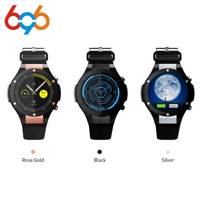 2e57e5caf Microwear H2 Smart Watch MTK6580 Life waterproof 1.4 inch 400 400 GPS Wifi  3G Heart Rate Monitor 1GB+16G For Android IOS PK KW88