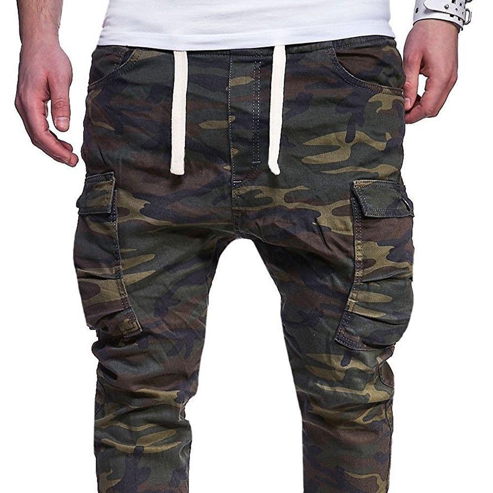 47f29f6f5ff9 2019 2019 Men Fashion Streetwear Mens Jeans Jogger Pants Youth ...