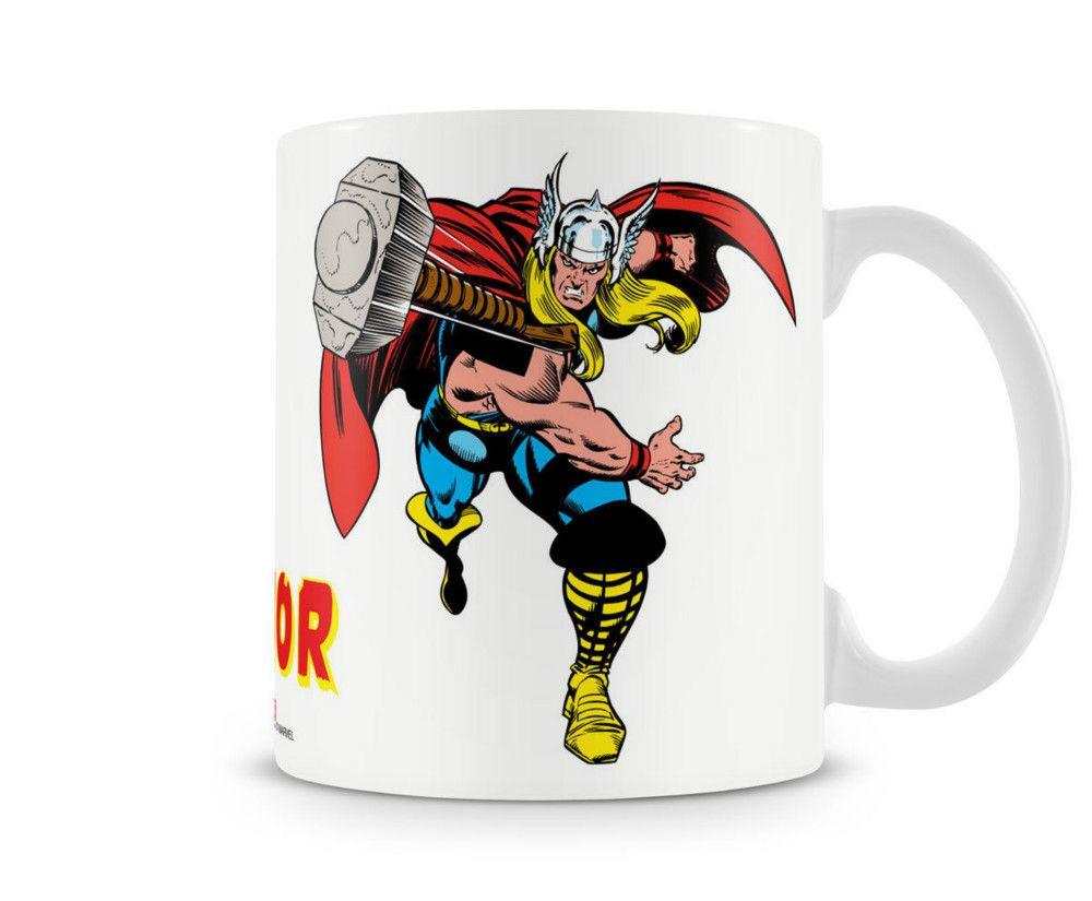 a1f08107b567 The Mighty Thor With Hammer Kaffee Becher Coffee Mug Tasse Marvel ...