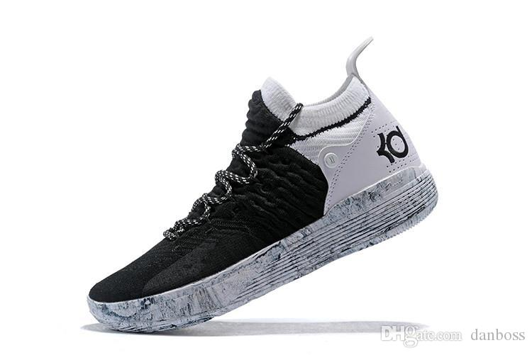 9832112c214b Cheap 2018 Basketball Shoes All Star Black White BHM University Red City  Series Top Quality KD 11 Men Basketball Shoes Sneakers Best Quality Dan