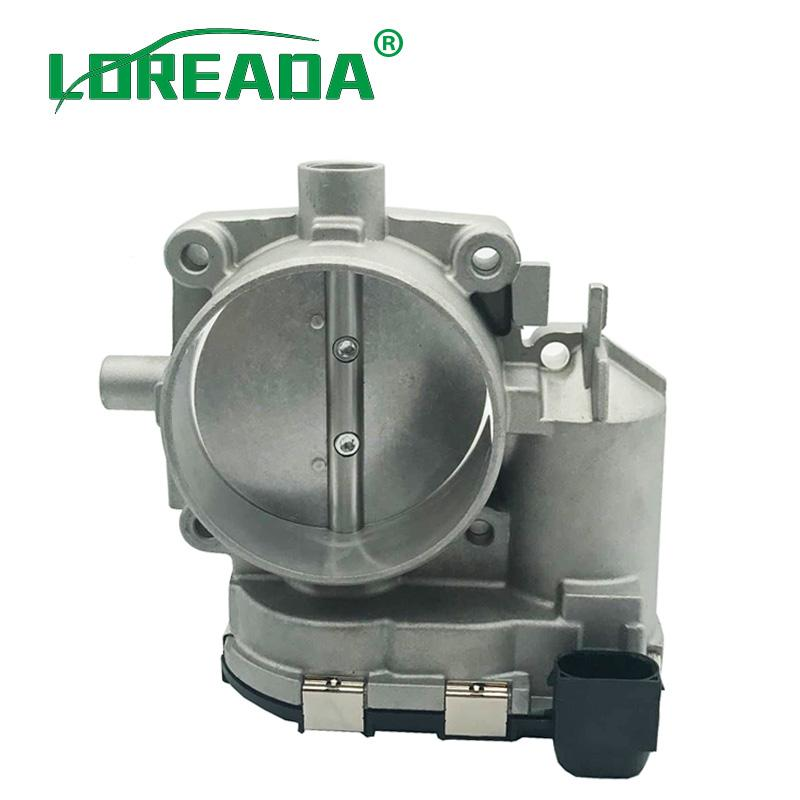 LOREADA ETB Electronic Throttle Body Assembly For Mercedes-Benz E500 C300  GLK350 ML350 S55 OEM 1131410125 0280750017