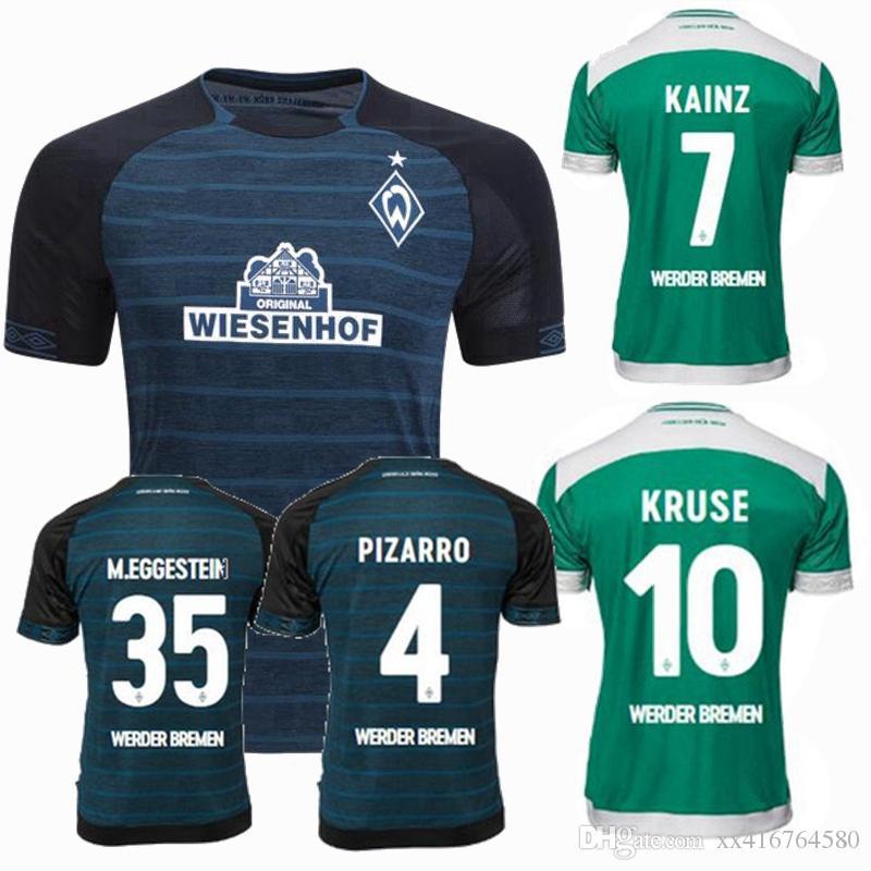 2018 2019 Werder Bremen Camisola De Futebol 18 19 Longe De Casa Camisas De  Futebol Do Desporto De Xx416764580 f0dbedb62b065