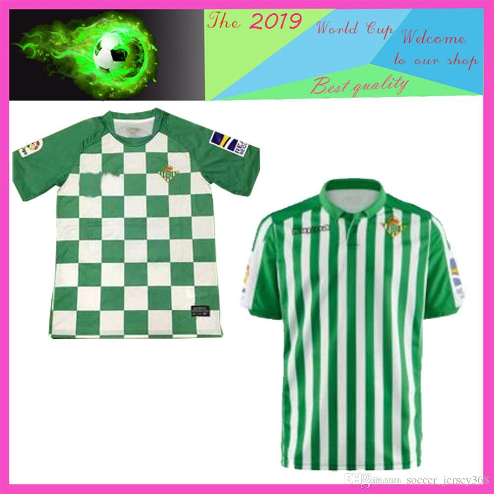detailed look 84aef 9618a new 19 20 Real Betis Soccer Jersey LO CELSO 2019 2020 LOREN CANALES  Football Shirt Betis Recycled Match Jersey JESE JOAQUIN Beti Jersey