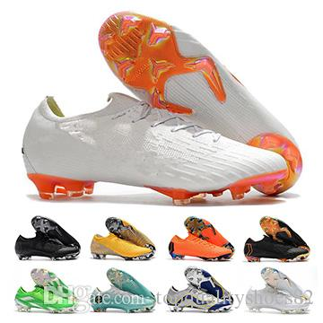 buy popular 54fa4 a022a Mercurial Superfly VI 360 Elite FG KJ 6 XII 12 CR7 Ronaldo Neymar Men  Mercurial Superfly High Top World Cup training Football Boots