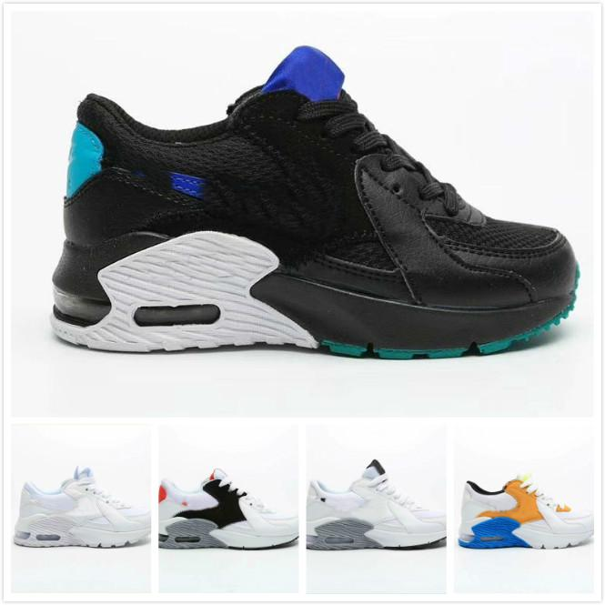 New special Kids Sneakers Shoes classic 90 3 Running Shoes Black White Sports trainers Infant Girl Boy Trainer Cushion Surface Sports Shoes