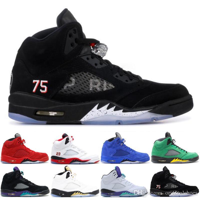 Camo Metallizzato 7 Sneaker Taglia Red Basket Ali Saint Athletics Sports 5 Mens 2019 V Nero Scarpe Germain Da Suede 13 5s FJTcK1l3