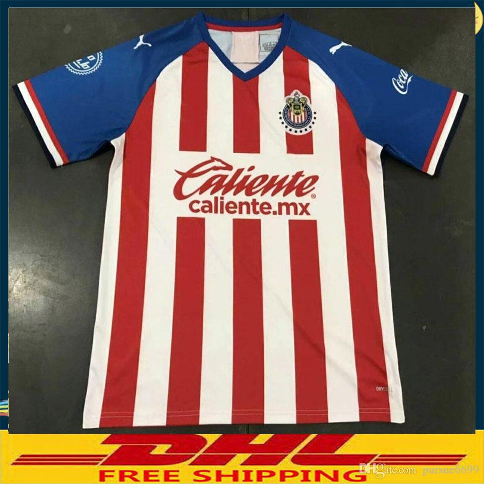 31f10192eaa 2019 DHL 2019 2020 Chivas Soccer Jersey 19 20 Club Deportivo Guadalajara  Soccer Jersey Size Can Be Mixed Batch From Pursue6699, $13.71 | DHgate.Com