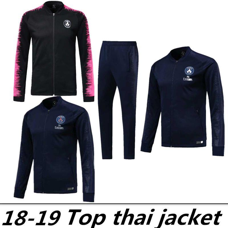 5deb6e4a7 2019 Paris Tracksuit 18 19 Psg Soccer Jogging Jackets 2018 2019 MBAPPE PSG  FR Maillot De Foot Football Jacket Training Suit From Zxc503, $28.43 |  DHgate.Com