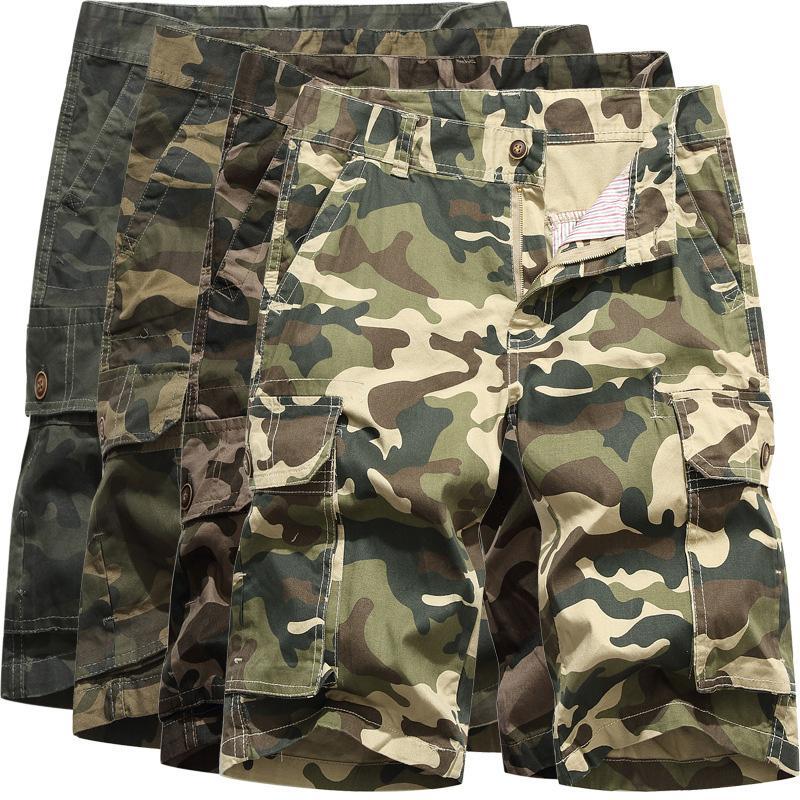 342bc3a1fe 2019 Cargo Shorts Men Camouflage Mens Shorts Casual New Summer Big ...