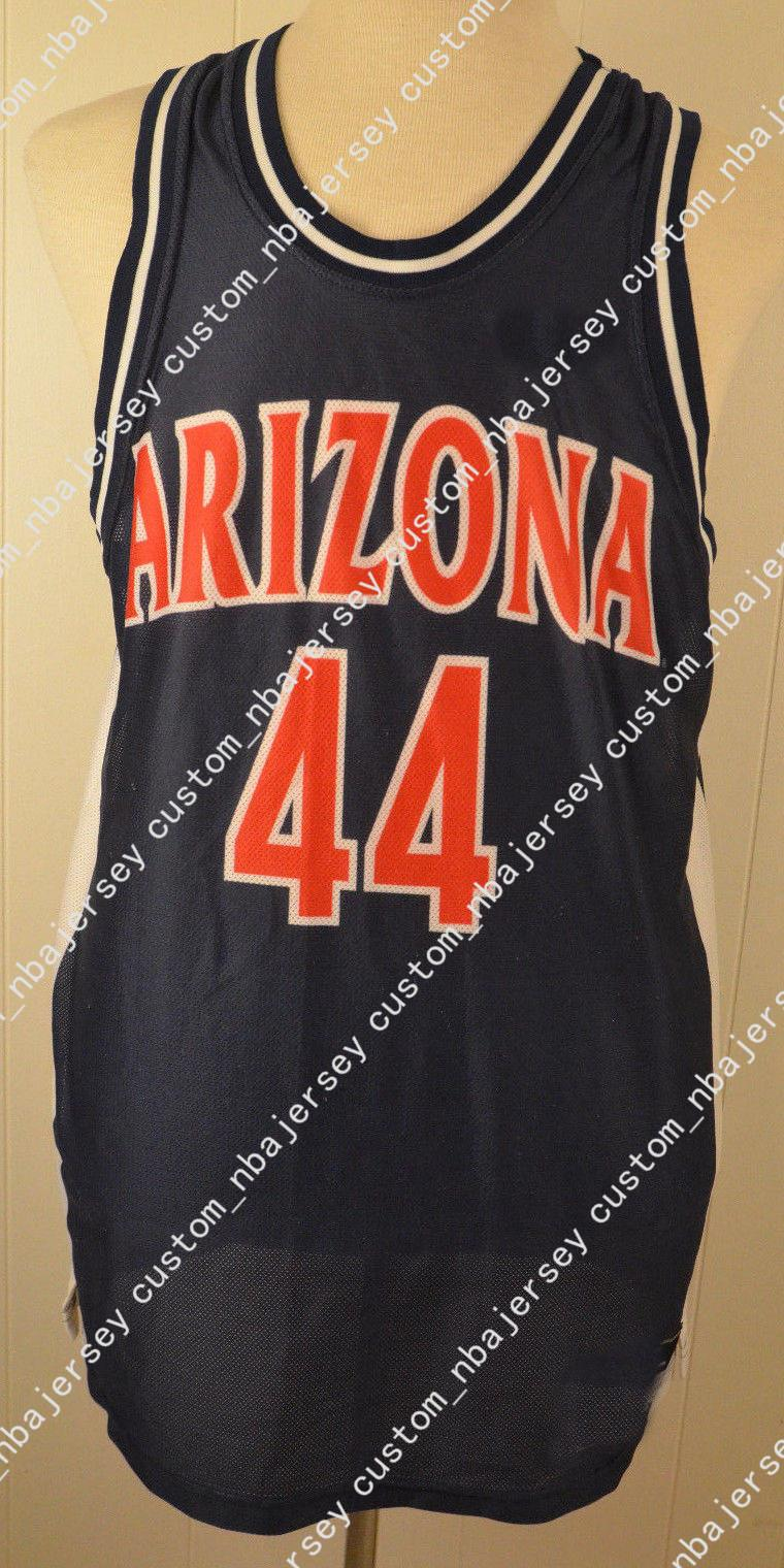 4dfb585be35 2019 Cheap Custom Arizona Wildcats Basketball Jersey  44 NCAA Blue Stitched  Customize Any Number Name MEN WOMEN YOUTH XS 5XL From Custom nbajersey