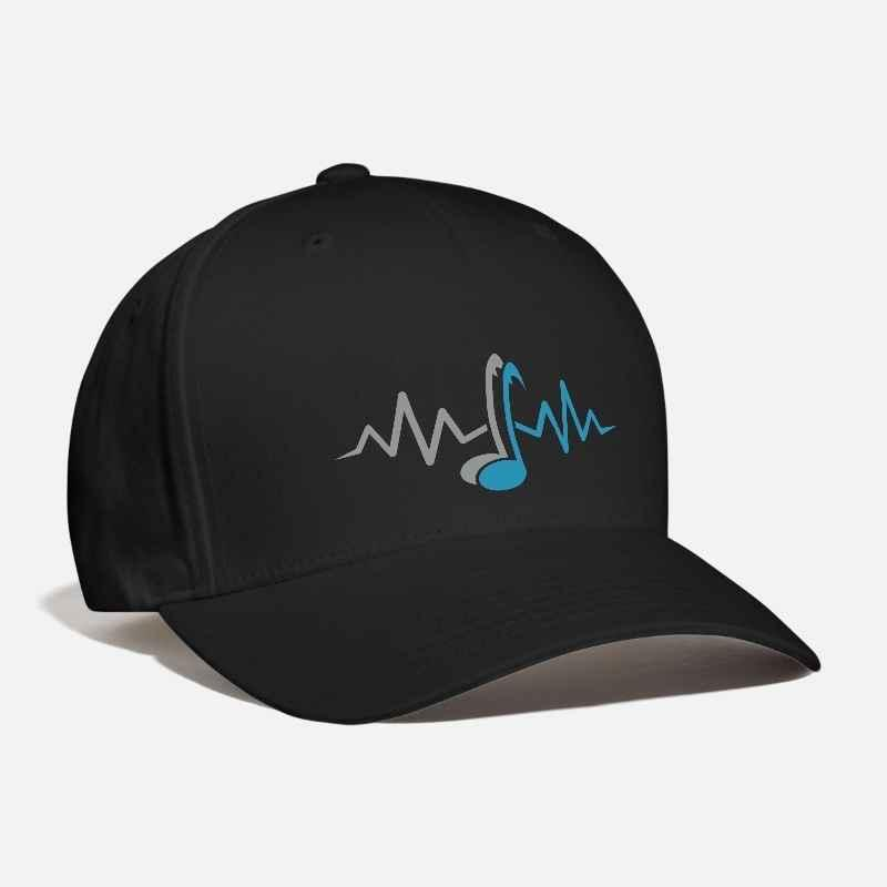 05a25612f21 Men S Women S Notes Embroidery Customized Handmade DJ Wave Club Dance  Dubstep Music Novelty Fashion Personalized Curved Dad Hat Hats Online Cap  Online From ...