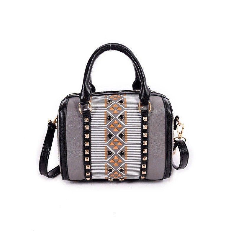 c1a437c319a7 Women S Boston Bag 2019 New European Boston Handbag Solid Color Pu Leather Women  Messenger Bag Sac A Main 839 Name Brand Purses Overnight Bags From ...