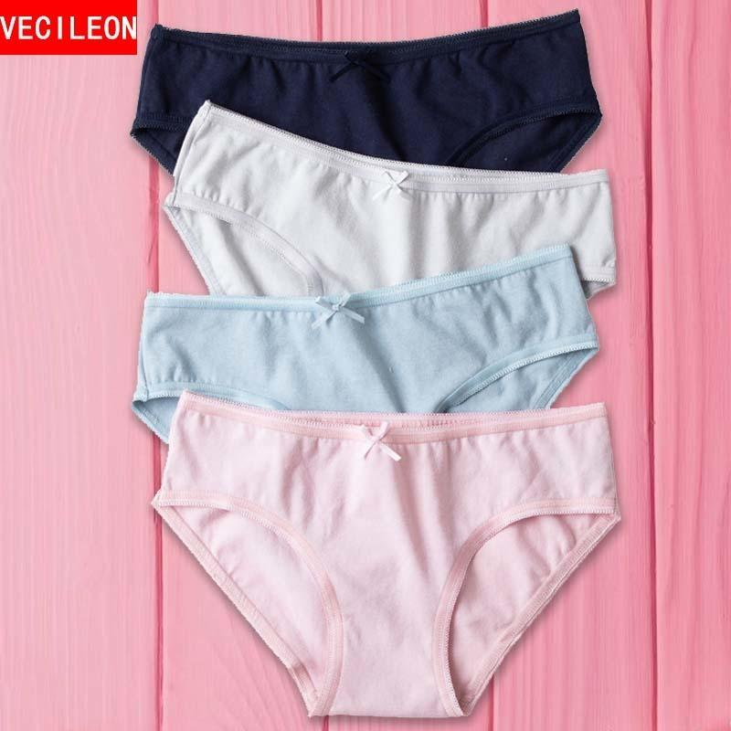 f0be94ab55c Ladies Underwear Women Panties Cotton Sexy Seamless Brief Woman Intimate  Lingerie Thong Plus Size Panty Calcinha Tang C19041601 From Shen06