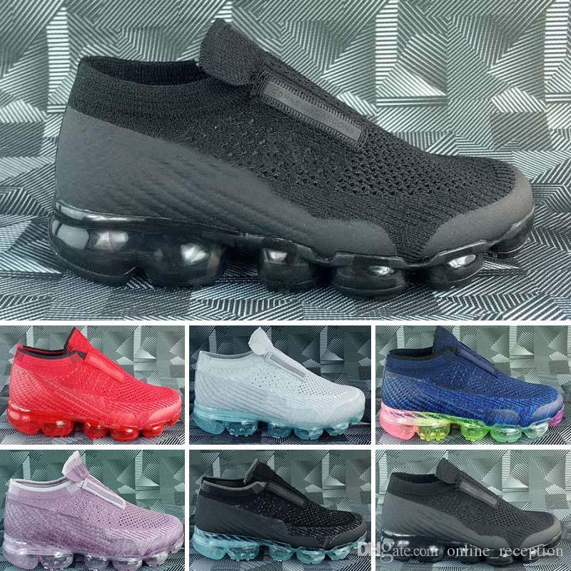 3a950896493a Acquista Nike Air Max Nuovi 2018 Bambini Economici Betrue Strip Ragazzi Scarpe  Da Corsa Arcobaleno Nero Rosso Bambini Sport Designer Sneakers Bambini  Scarpe ...