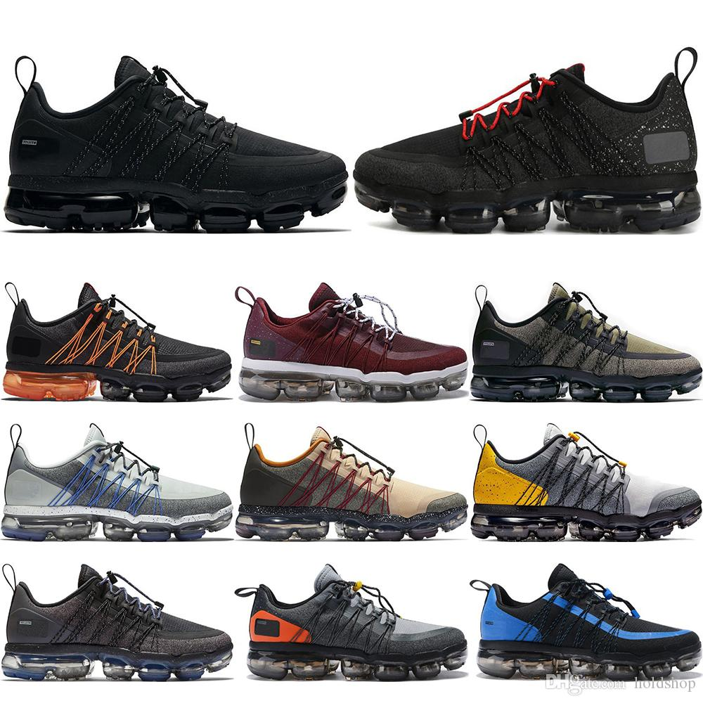 5d2ba98d430b 2019 2019 Run Utility Men Running Shoes Medium Olive Triple Black  Anthracite White Reflect Silver Discount Shoes Sport Sneakers 40 45 From  Holdshop