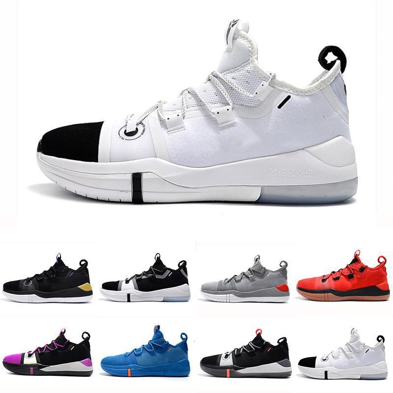 best sneakers 33537 7005e Großhandel Mit Box Kobe AD EP Mamba Tagessegel Multicolor Herren Basketball  Schuhe Wolf Grey Orange Für Schwarz Weiße Herren Turnschuhe Sportschuhe Von  ...