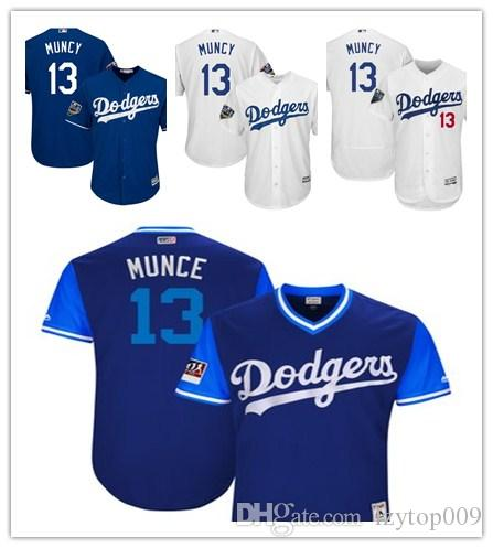 0e7d5fe1 Men s Dodgers 13 Max Muncy Majestic White Home Official Cool Base Player  Los Angeles women kids Jersey