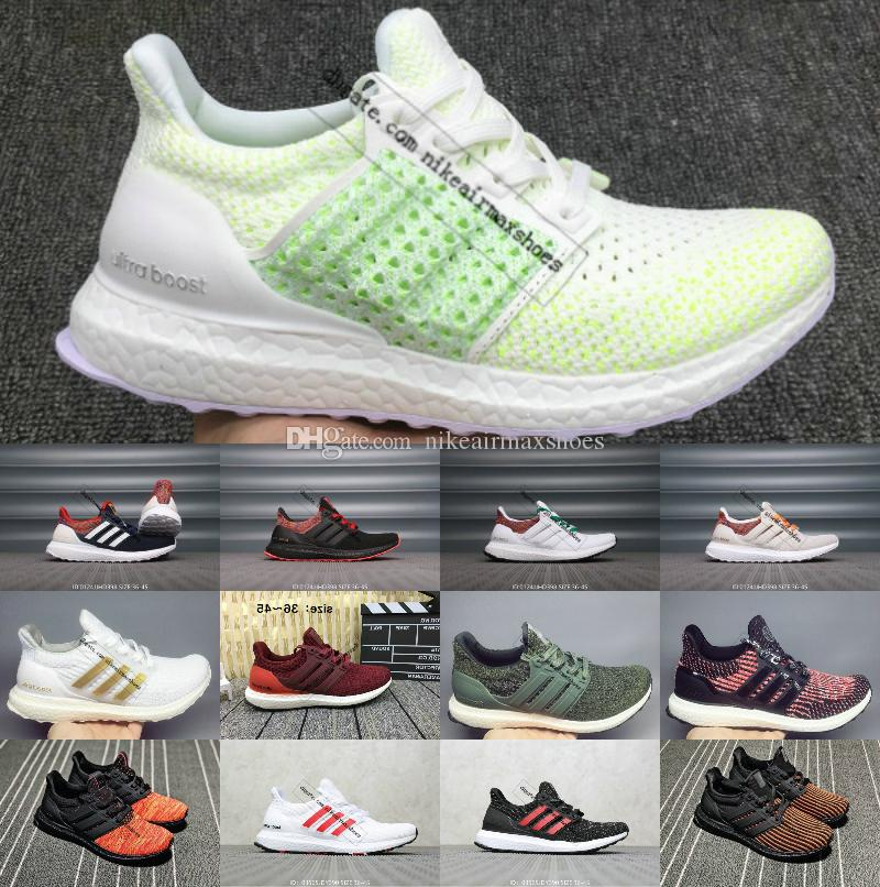 2019 New Ultraboost 3.0 4.0 Sports Shoes Men Women High Quality Chaussures Ultra Boosts 4 III White Black Athletic Casual Luxury Sneakers