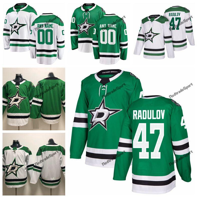 best sneakers 5c599 b8c08 2019 Alexander Radulov Dallas Stars Hockey Jerseys Mens Cheap Custom Name  Home Green #47 Alexander Radulov Stitched Hockey Shirt S-XXXL
