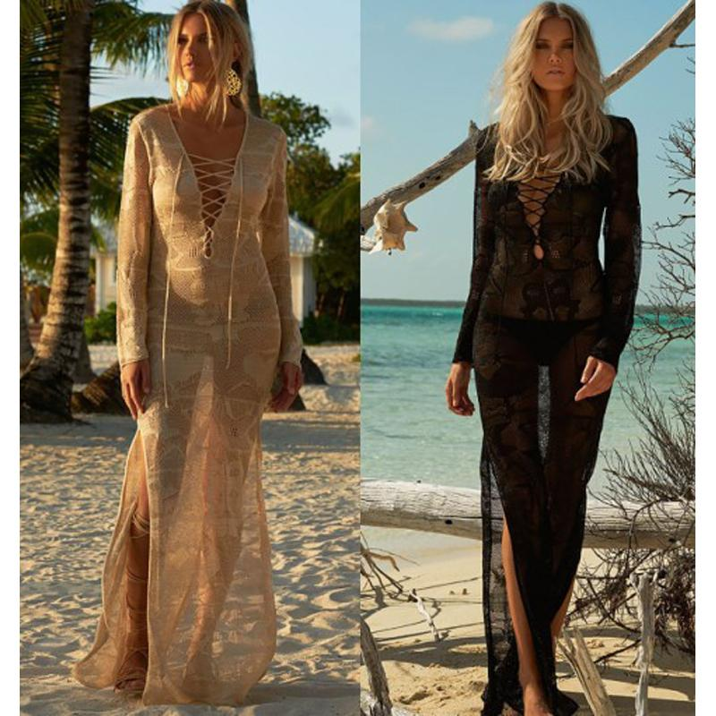 d9e043439c 2019 Pareo Beach To Swimsuit Coverup And Tunics Dresses Lace Cover ...