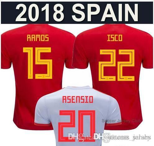 Camiseta De Fútbol De Local De España b434848d7366a
