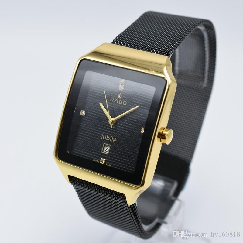 d1fac32d037 Compre Homens 40mm   Women 32mm Marca Assista Nova Moda De Luxo Mulher  Elegante Relógios Simples Casual Masculino Relógio De Quartzo Homem Relógio  De Pulso ...
