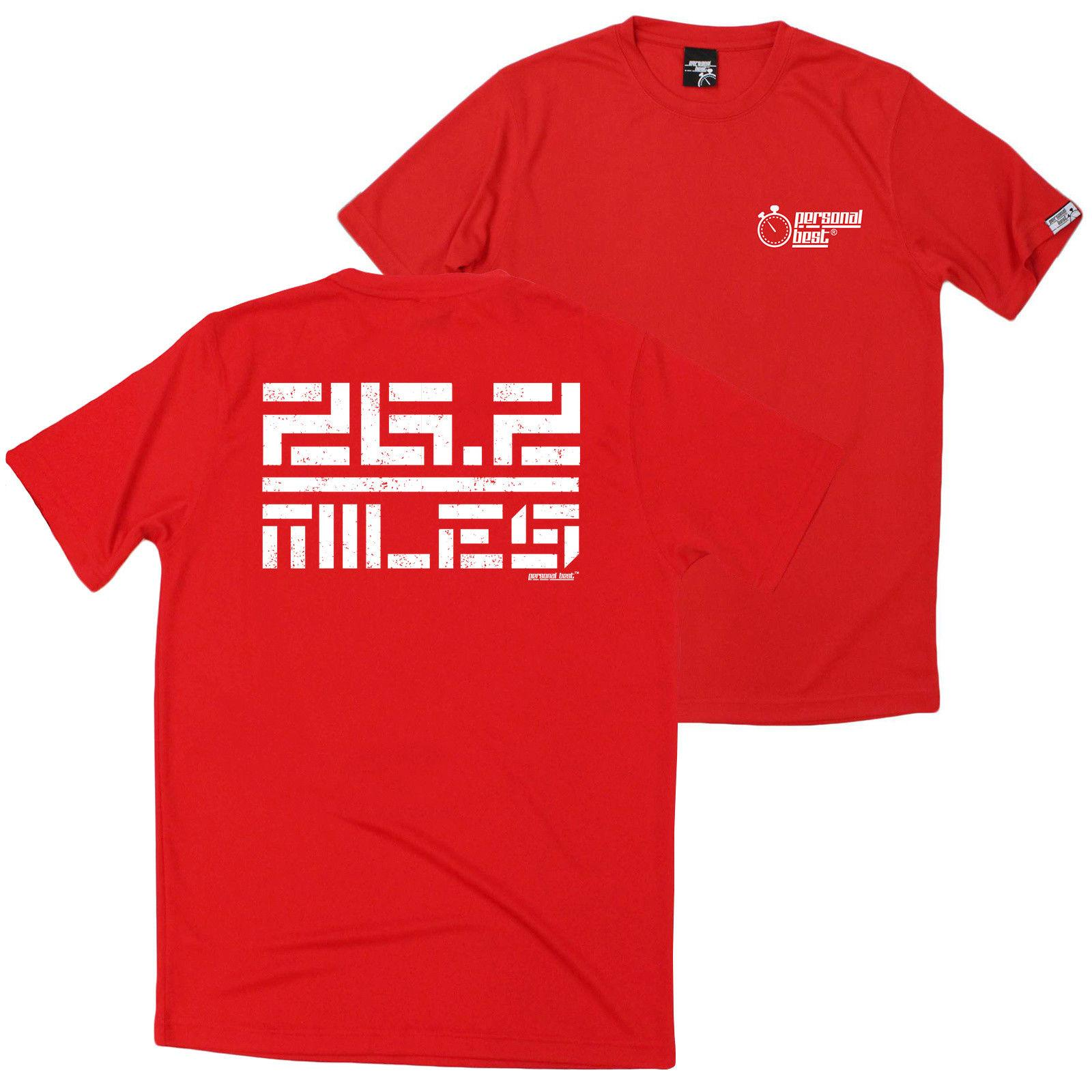 FB Running Tee 26 Miles Novelty Birthday Christmas Dry Fit Performance T Shirt Brand Shirts Jeans Print Classic Quality High Online