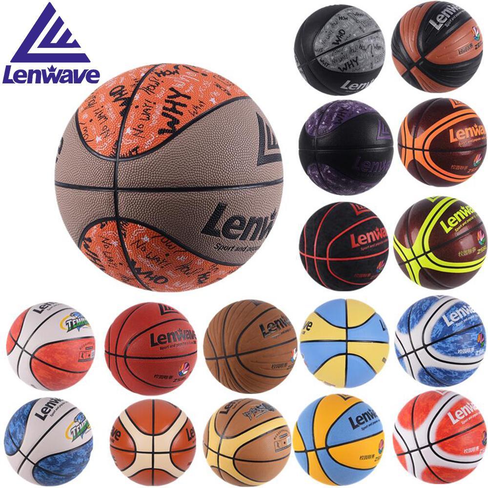 a57471fb7eaee Acheter 17 Modèles De Haute Qualité Taille Officielle 5 6 7 Ballons De  Basket Ball En Cuir PU Vente Au Détail En Gros De Basket Ball Gratuit Avec  Filet Sac ...