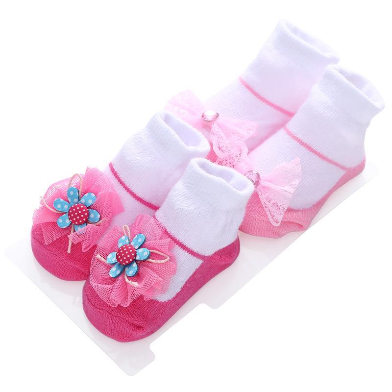 3068be7f3 2019 Bow Princess Newborn Baby Socks Candy Cute Cotton Baby Socks Gift Set  Ner345 Free Socks Site Free Socks Online From Toyshome