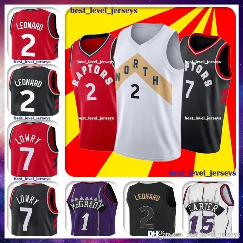 buy popular 57e8a 69c85 2 Kawhi jerseys Leonard city jersey Toronto jersey Kyle 7# Lowrys jerseys  retro Mcgrady jerseys Carter jersey
