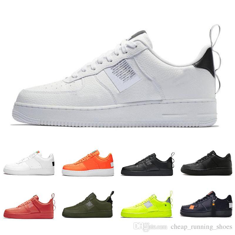 mode designer eaedf 98aeb Nike Air Force 1 shoes Dunk 1 Utility Classic Black White Men Women Casual  Chaussures rouge Orange Sports Skateboarding Haute Basse Coupe Baskets De  ...