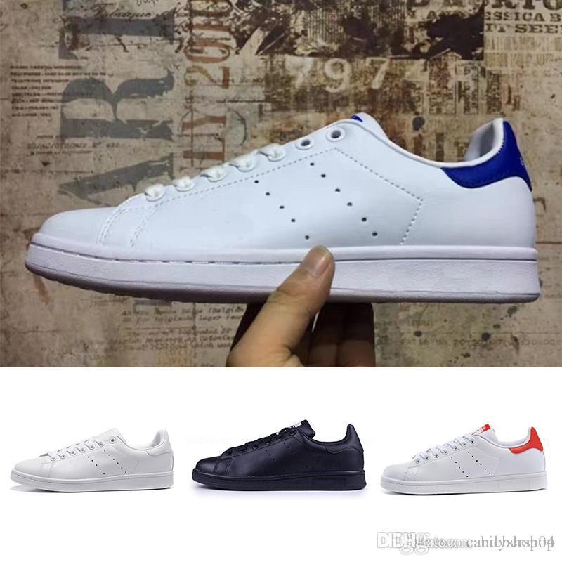 def9be9960c Compre Adidas Clover 2018 Los Mejores Zapatos De Mujer De La Marca. Nuevos  Zapatos Stan Para Hombres. Zapatillas Smith. Calzado Deportivo De Cuero  Casual En ...