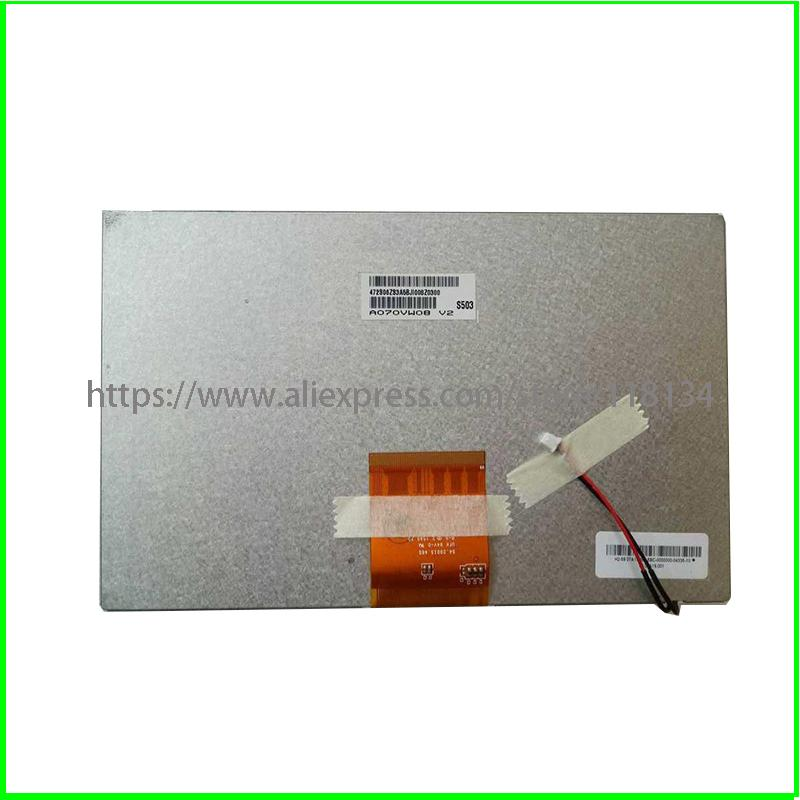 7inch LCD screen A070VW08 V2 V0 for Tablet PC MID GPS 800*480 Lcd Display