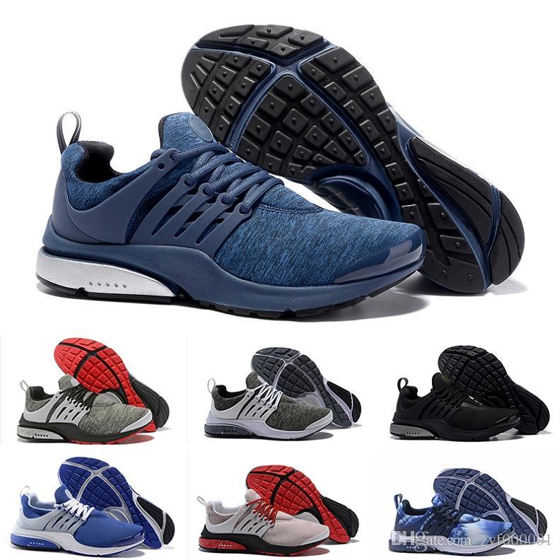first rate 8fce3 a325c Compre 2018 Nike Air Presto Ultra Low Nuevo Original Presto V2 Ultra BR TP QS  Negro Blanco X Zapatillas Deportivas Barato Sports Women Men AI Prestos Off  ...