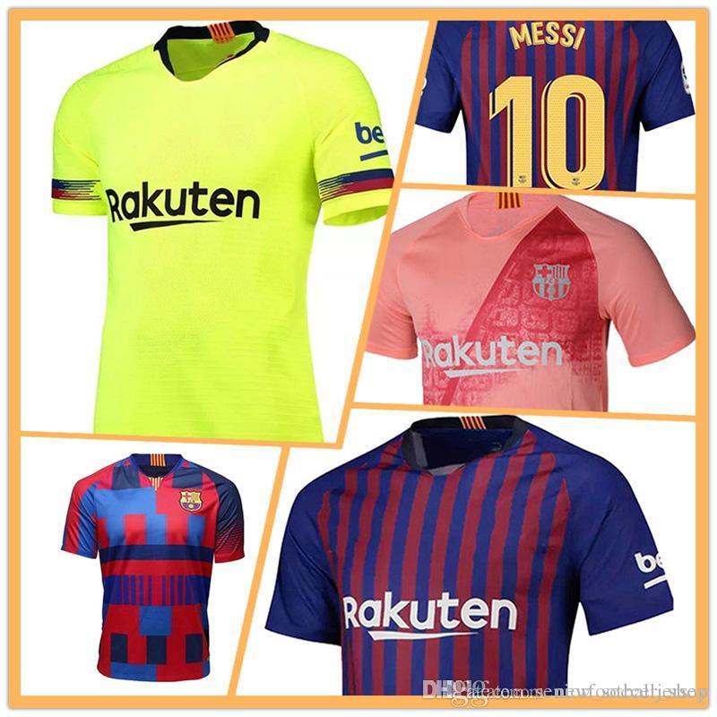 promo code f9ab3 bfa71 19 20 new Barcelona Jerseys 10 Messi Soccer Jersey SUAREZ O.DEMBELE A.  INIESTA Coutinho VIDAL PIQUE SERGIO UMTITI Football uniforms