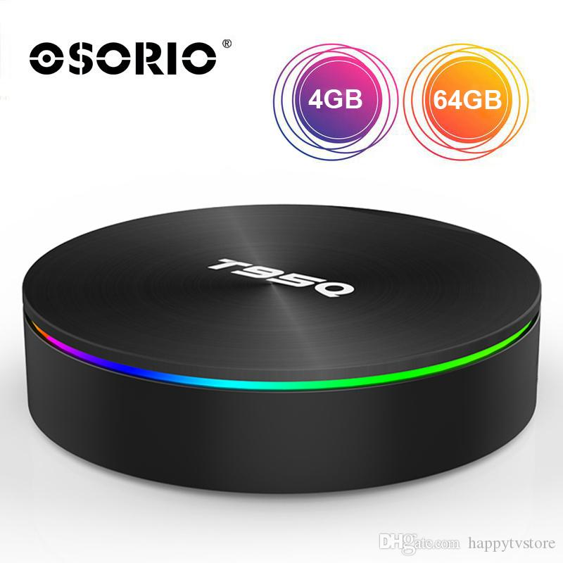 1 pcs Best Value Android TV Box Smart S905X2 Quad Core 4GB 64GB Android 8.1 Multimedia Box For TV 5.8G AC Wifi 1080P 4K Media Player 4gb 32g