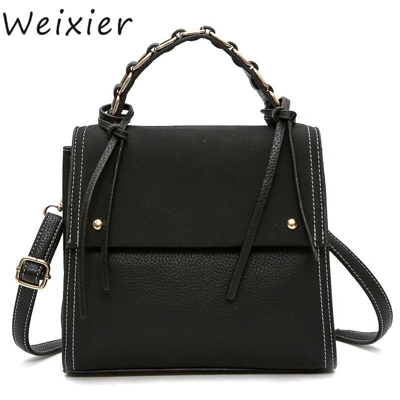 WEIXIER Style Retro Big Tote Bag Women s Designer Handbag High ... 5d86d567279e7