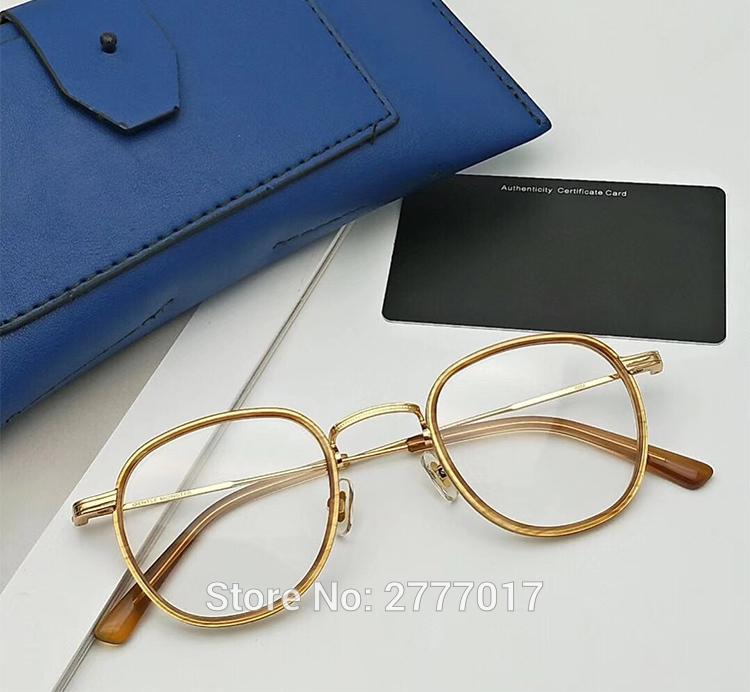 fe152dca540e 2019 2019 Vintage Small Round Gentle COCO HANDMADE Men Women Optical  Glasses Tortoise Eyeglasses Frames Prescription Myopia From Vineer