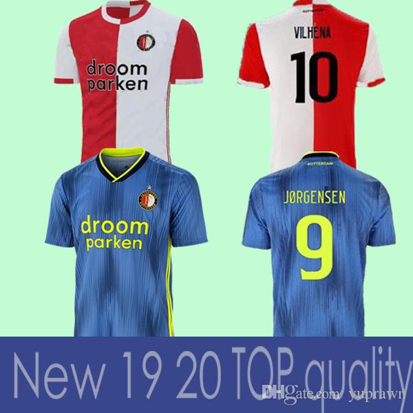 fde03a2f5a7 19 20 Feyenoord Soccer JerseyS Home Away 2019 11 LARSSON 32 V.PERSIE ...