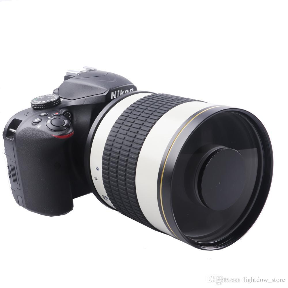 500mm F6 3 Telephoto Mirror Lens T2 Mount Adapter Ring for Canon 1100D  1200D 1300D 100D 200D 300D 350D 400D 450D Nikon Camera