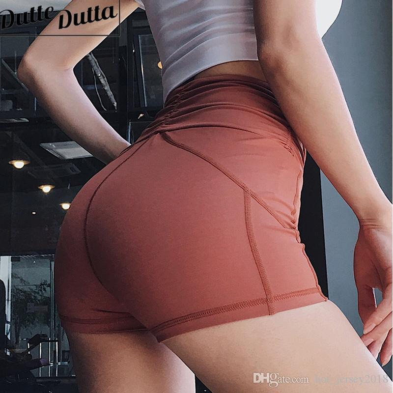High Waist Workout Shorts Women Solid Tight Shorts Push Up Gym Fitness Short Pants Compression Yoga For Women Active Wear #75132