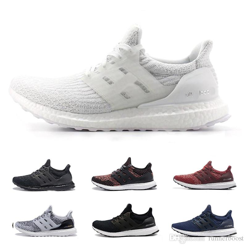 72ac8a6ad 2019 Ultra Boost 3.0 5.0 BE TRUE Running Shoes For Men Women Ultraboost III  Triple White Black Designer Sneakers Trainers Sports Chaussures From  Runnerboost ...