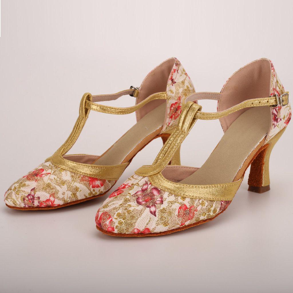 Dress Shoes Women S Sandals Spring Summer Ladies Dancing Rumba Waltz Prom Ballroom  Latin Salsa Dance Fashion Sandalias High Heel Hot Boat Shoes For Men Navy  ... 75a769f3a537