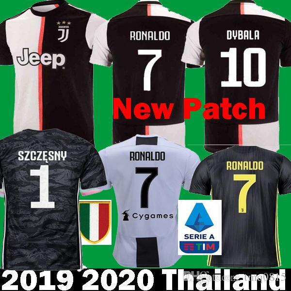 103226a31ab 2019 2019 2020 RONALDO JUVENTUS Kits Goalkeeper DYBALA MARCHISIO MANDZUKIC Soccer  Jerseys 19 20 Camisetas CHIELLINI Bernardeschi Football Shirt From Tmq0815  ...