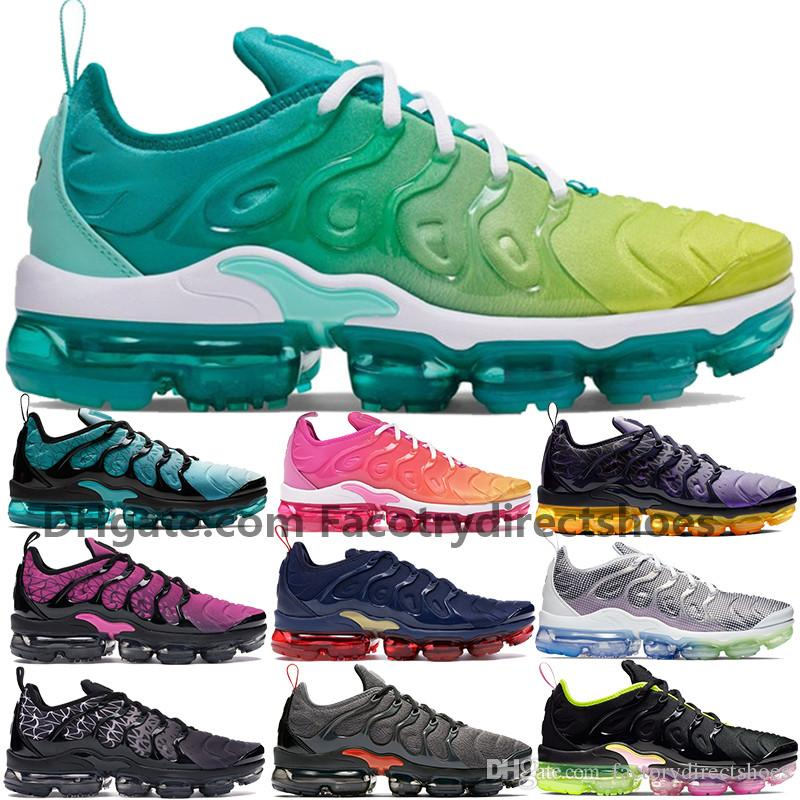 Cheap New Plus Tn Aurora Green Spirit Teal Be True men running shoes BARELY GREY Black Pink Rise Sherbet womens KPU Sneakers Booties