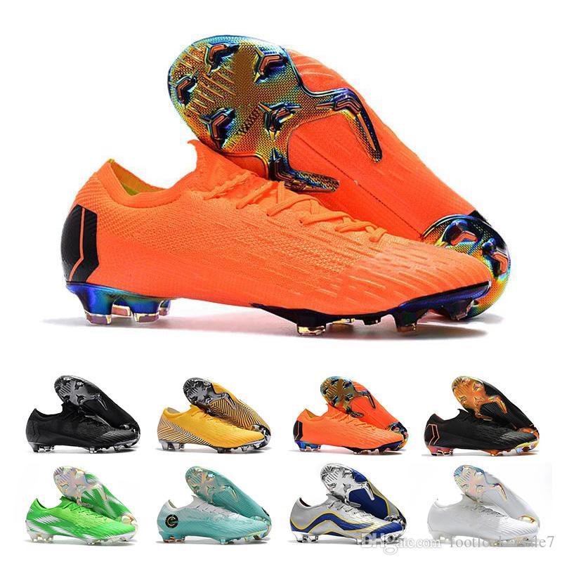 design de qualité 870e8 40561 CR7 Mercurial Superfly Chaussures De Football Pour Hommes Crampons Haut  Chaussures De Football En Cuir Bas Ronaldo Mercurial Neymar Superfly ...