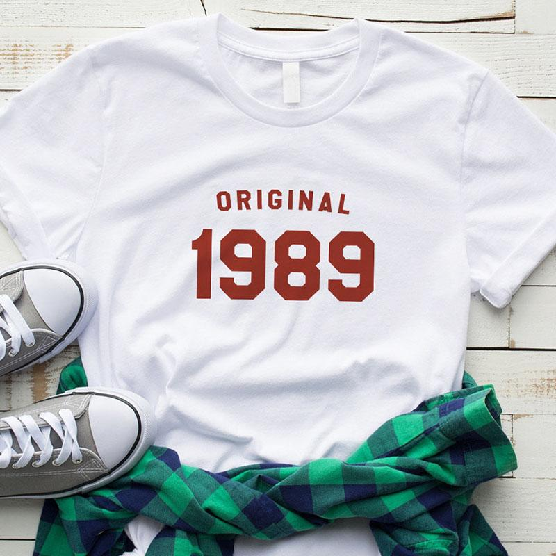 2019 30th Birthday Shirt Summer Fashion Tshirt Graphic Tee For Women Gifts Her 1989 T Shirts Mom Life From Shop008
