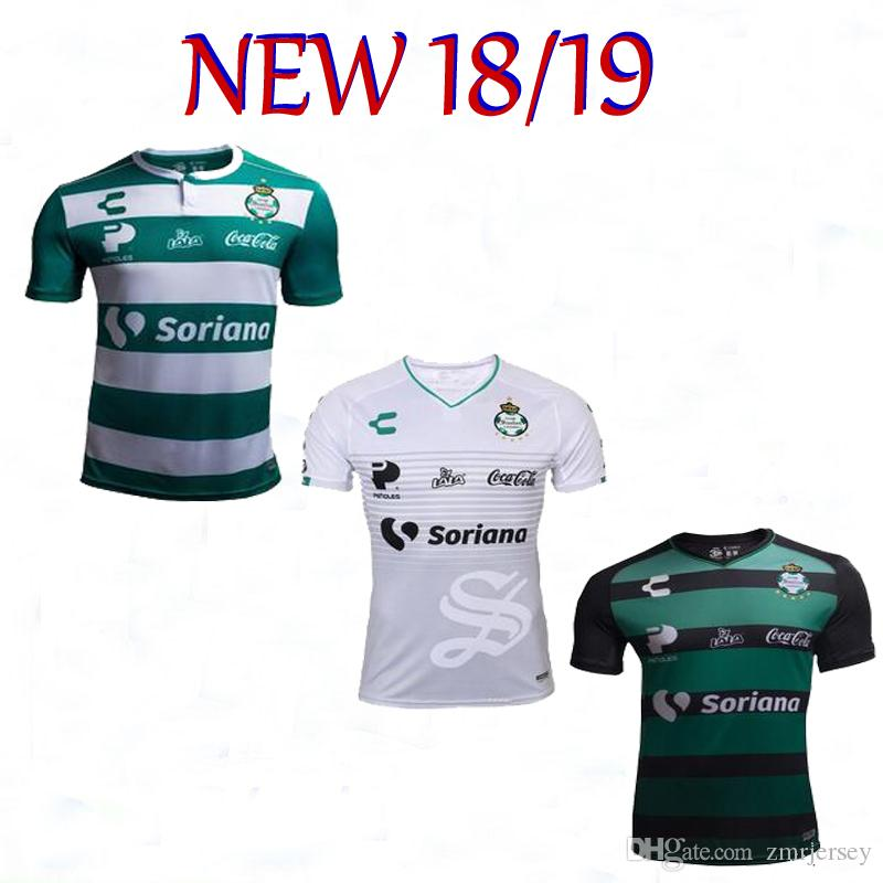 10da6e222 2019 2018 2019 Mexico Club Santos Home Away 3rd Santos Laguna Soccer  Camisetas Jersey Martinez Football Shirts From Zmrjersey