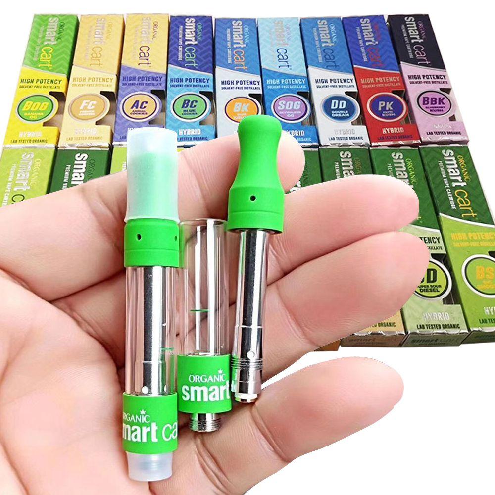 Smart Cart Vape Cartridges Packaging Smart Bud 1ml Ceramic Coil Empty Vape  Pen Cartridge Dab Pen Vaporizer For Thick Oil 510 Thread Battery